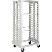 Rubbermaid® 3319 Side-Load White Plastic Tray Truck