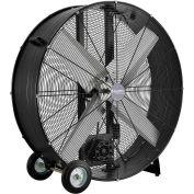 "Global Industrial™ 42"" Drum Blower Fan - Portable - Belt Drive - 17600 CFM - 1 HP"