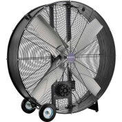 """Global Industrial™ 48"""" Portable Drum Blower Fan With Belt Drive, 19500 CFM, 1-1/2 HP"""