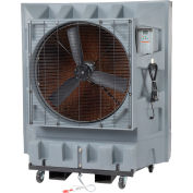 "Global Industrial™ 36"" Direct Drive 3-Speed Evaporative Cooler, 32 Gal. Cap., 120V"
