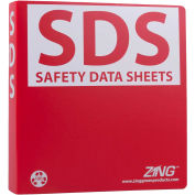 """ZING Eco GHS-SDS Binder, 1.5"""" Ring, Recycled Poly, 6030"""