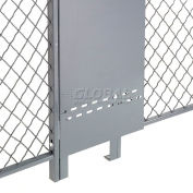 Global Industrial™ Fill-A-Gap Adjustable Panel for 10' Wire Mesh Partition