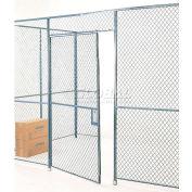 Global Industrial™ Wire Mesh Hinged Door - 8x4