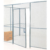 Global Industrial™ Wire Mesh Hinged Door - 8x4