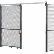 Global Industrial™ Wire Mesh Sliding Gate - 10x6