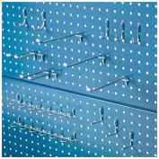 "Global Industrial™ Steel Pegboard Panel, 60""W, Blue"