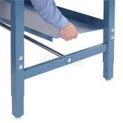 """Global Industrial™ Steel Shelf, 96""""W x 14""""D, Blue"""