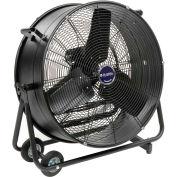 "Global Industrial™ 24"" Portable Tilt Drum Blower Fan, 2 Speed, 7700 CFM, 1/3 HP, Single Phase"