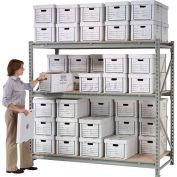 "Global Industrial™ Record Storage Rack Add-On 96""W x 18""D x 72""H"