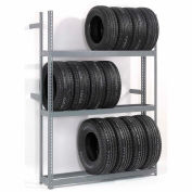 """Global Industrial™ 4 Tier Double Entry Tire Rack 60""""W x 54""""D x 120""""H"""
