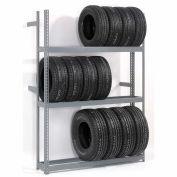 "Global Industrial™ 4 Tier Single Entry Tire Rack 60""W x 18""D x 120""H"