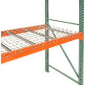 "Global Industrial™ Pallet Rack Wire Decking, 52""W x 42""D (2700 lbs cap) Gray"