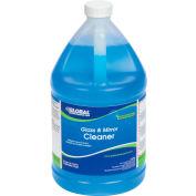 Global Industrial™ Glass & Mirror Cleaner, Gallon Bottle, 4 Bottles