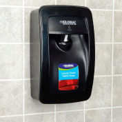 Global Industrial™ Hand Soap Starter Kit W/ Automatic Dispenser - Black