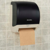 """Global Industrial™ Automatic Roll Paper Towel Dispenser - 8"""" Roll, Smoke Gray/Beige Finish"""