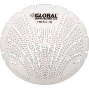 Global Industrial™ Urinal Screen - Melon 10 Screens/Case