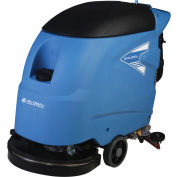 """Global Industrial™ Electric Walk-Behind Auto Floor Scrubber, 18"""" Cleaning Path"""