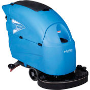 """Global Industrial™ Auto Floor Scrubber With Traction Drive, 26"""" Cleaning Path"""
