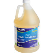 Global Industrial™ Liquid Hand Soap, Clear - Case Of Four 1 Gallon Bottles
