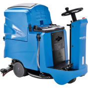 """Global Industrial™ Auto Ride-On Floor Scrubber, 22"""" Cleaning Path"""