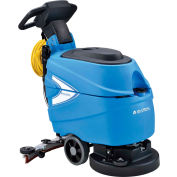 """Global Industrial™ Electric Walk-Behind Auto Floor Scrubber 17"""" Cleaning Path - Corded"""