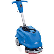 """Global Industrial™ Electric Walk-Behind Corded Auto Floor Scrubber, 13"""" Cleaning Path"""