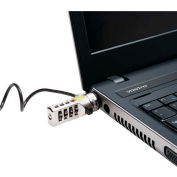 Kensington® 64684 WordLock® Portable Combination Laptop Lock with 6 ft. Cable