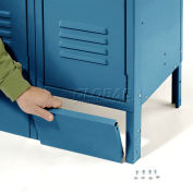 "Global Industrial™ Front Base For 12""W X 6""H Blue Locker"