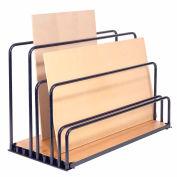 "Global Industrial™ Adjustable Floor Sheet Rack 48""L x 24""W x 36""H"