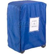 Global Industrial™ Blue Nylon Cover For 3 Lug Cart