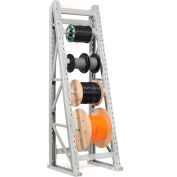 "Global Industrial™ Reel Rack Starter Unit 36""W x 36""D x 120""H"