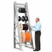"Global Industrial™ Reel Rack Starter Unit 24""W x 36""D x 96""H"