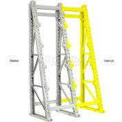 "Global Industrial™ Reel Rack Add-On Unit 24""W x 36""D x 96""H"