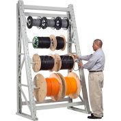 "Global Industrial™ Reel Rack Starter Unit 48""W x 36""D x 96""H"