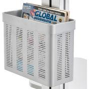 Storage Pocket For Global Industrial™ Mobile Height Adjustable Laptop Workstations
