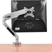 Interion® Gas Spring Single Monitor Desk Mount