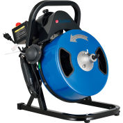 """Global Industrial™ Drain Cleaner For 2-4"""" Pipe, 220 RPM, 75' Cable"""