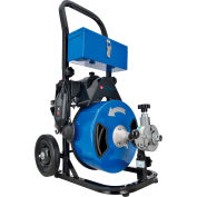 """Global Industrial™ Autofeed Drain Cleaner Machine For 2-4"""" Pipe, 220 RPM, 75' Cable"""
