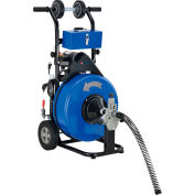 """Global Industrial™ Drain Cleaner For 4-9"""" Pipe, 200 RPM, 100' Cable"""