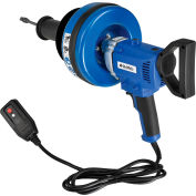 """Global Industrial™ Electric Handheld Drain Cleaner For 3/4""""-3""""ID, 0-500 RPM, 3 Cables"""