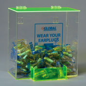 Global Industrial™ Acrylic Safety PPE Dispenser, Ear Plugs, Large, GLAEP-D
