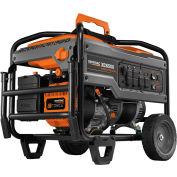 GENERAC® 6824, 6500 Watts, Portable Generator, Gasoline, Recoil Start, 120/240V