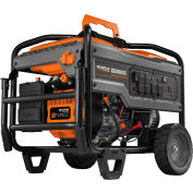 GENERAC® 6827, 8000 Watts, Portable Generator, Gasoline, Electric/Recoil Start, 120/240V