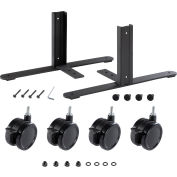 Interion® T-Leg Bracket Kit With Casters (Per Pair)