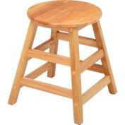 "Interion® 18"" Wood Stool"