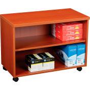 """Interion® 30"""" Under Desk Storage Cabinet - Cherry"""
