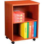 """Interion® 20"""" Under Desk Storage Cabinet - Cherry"""