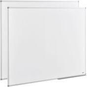 Melamine Dry Erase Whiteboard - 60 x48 - Double Sided 2 Pack