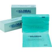 Global Industrial™ Pet Waste Plastic Bags, Green, 200 Bags/Roll