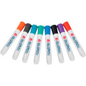 Global Industrial™ Dry Erase Markers, Bullet Tip, Assorted Colors, 8 Pack